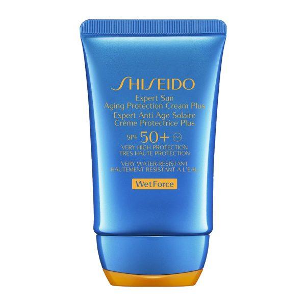 shiseido expert sun aging crema spf50 wetforce
